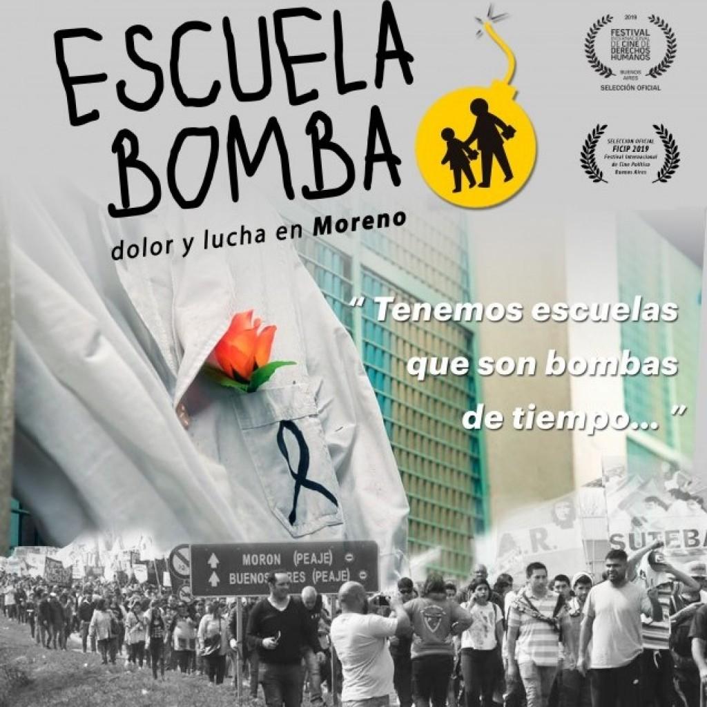 Escuela Bomba, dolor y lucha en Moreno